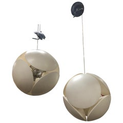Modern Italian Sputnik Pendant by Foscarini, 2 Available