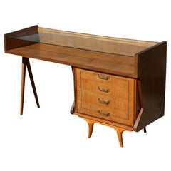Modern Italian Wooden Display Cabinet