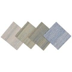Modern Kilim-Style Custom Wool Rug