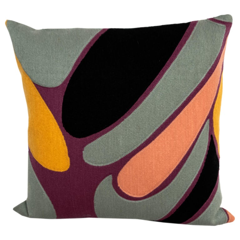 Modern Kilombo Home Embroidery Pillow Cotton Multiple Colors For Sale