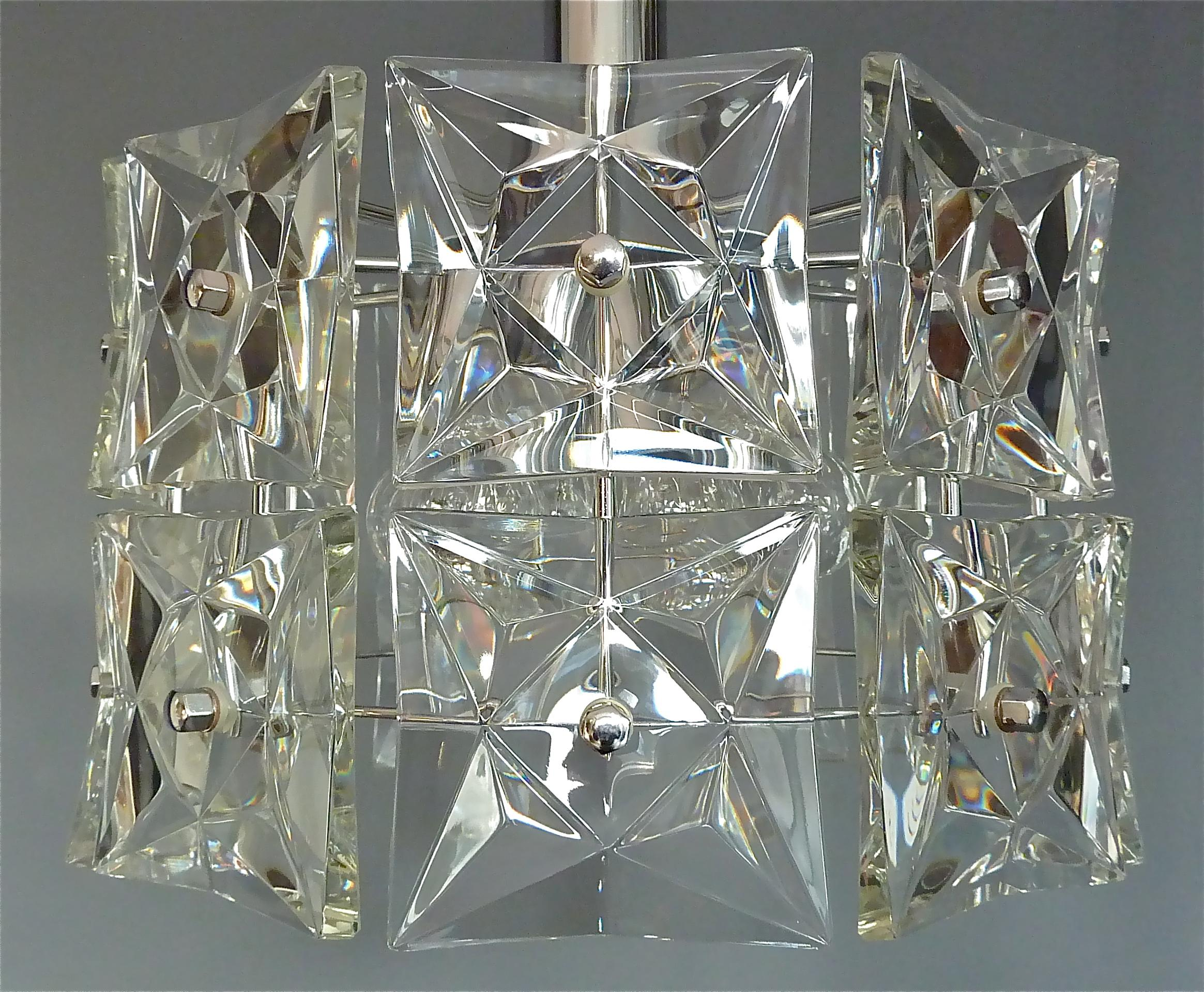 Kronleuchter Kristall Klein ~ Moderner kinkeldey kronleuchter kristall glas chrom deutschland