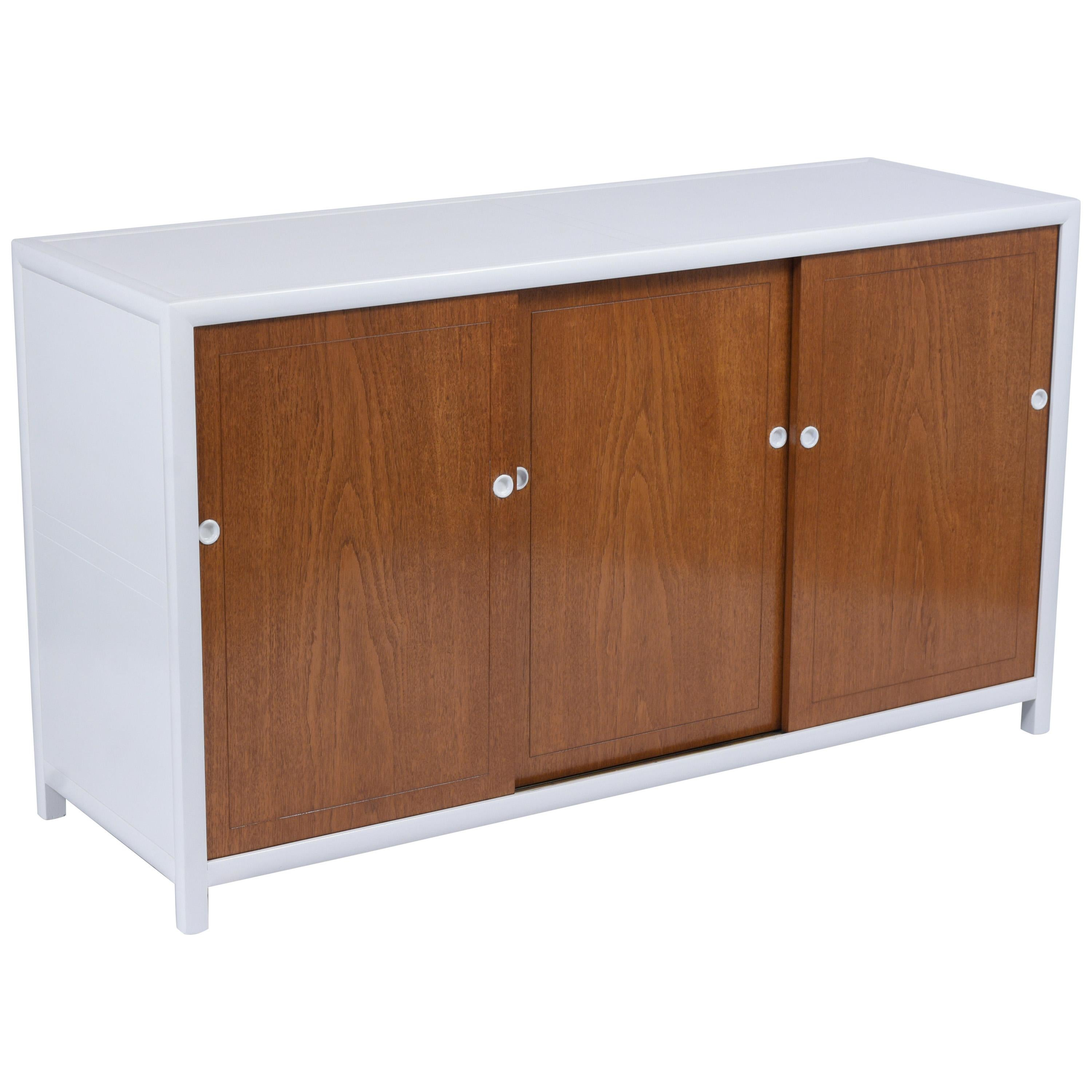 Modern Lacquer Credenza by Baker