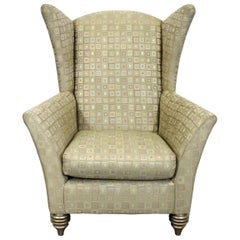Modern Larry Laslo for Directional Club Wingback Chair