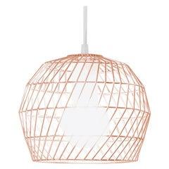 Modern Light Pendant, Mini Pendant by Bend Goods in Copper