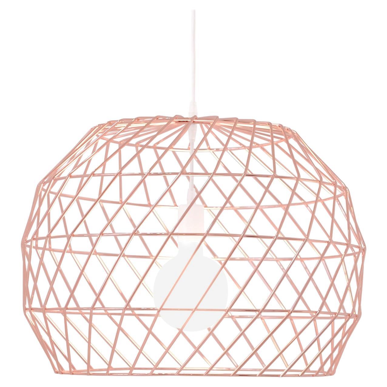 Modern Light Pendant, the Array Pendant by Bend Goods, Copper