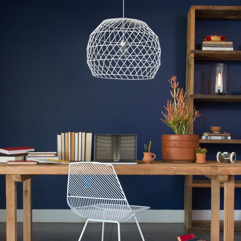 Plated Modern Light Pendant, the Array Pendant by Bend Goods, Gold For Sale