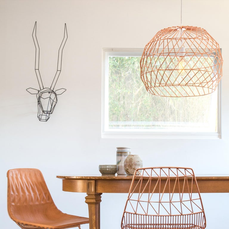 Modern Light Pendant, the Array Pendant by Bend Goods, Gold In New Condition For Sale In Los Angeles, CA