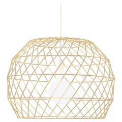 Modern Light Pendant, the Array Pendant by Bend Goods, Gold