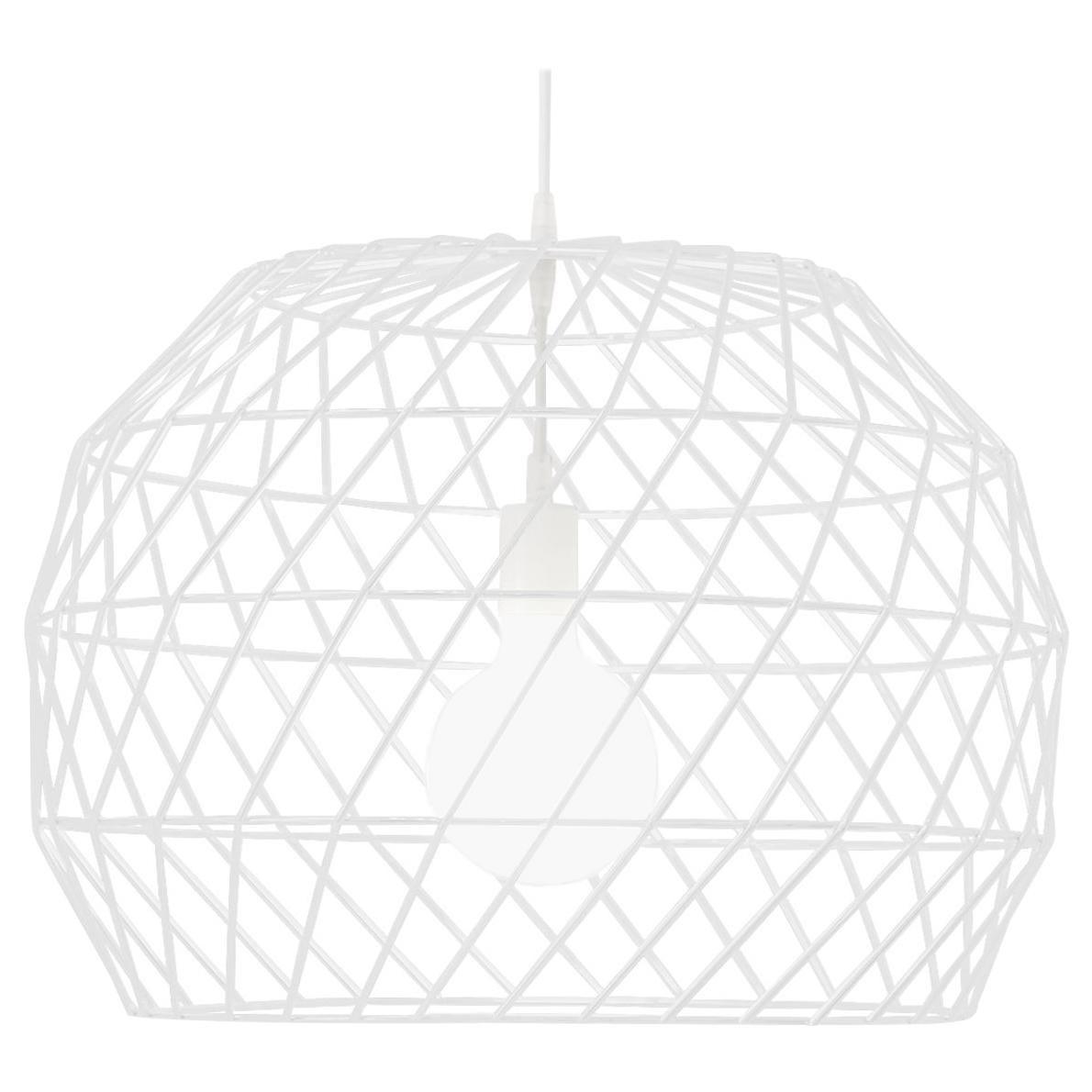 Modern Light Pendant, the Array Pendant by Bend Goods, White