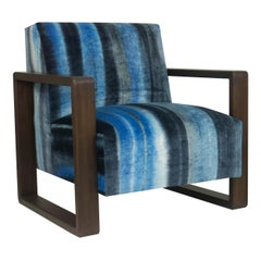 Modern Lounge Armchair with Square Frame