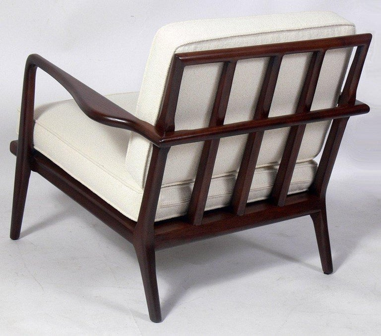 Mid-Century Modern Modern Lounge Chair Designed by Mel Smilow For Sale