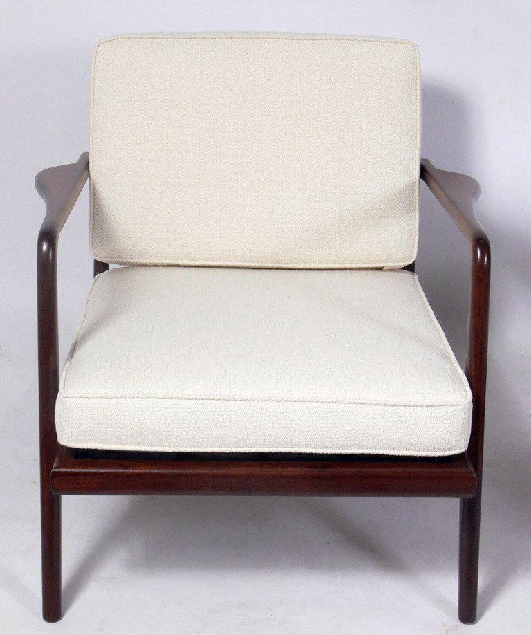 American Modern Lounge Chair Designed by Mel Smilow For Sale
