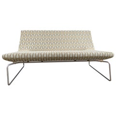 Modern Low 2-Seat Superlight Sofa Barber Osgerby by Cappellini