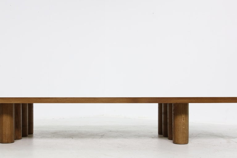 Beautiful contemporary Nathan Lindberg table, heavyweight. This piece can be used as a coffee table or console or bench... or even a daybed (please just contact us for more informations, ideas or additional costs, for example a matching mattress can
