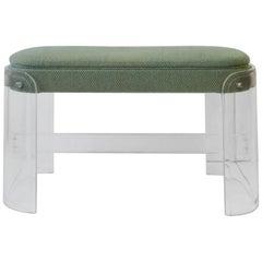 Modern Lucite Bench