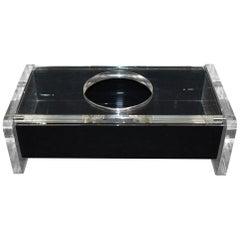 Modern Lucite Tissue Box
