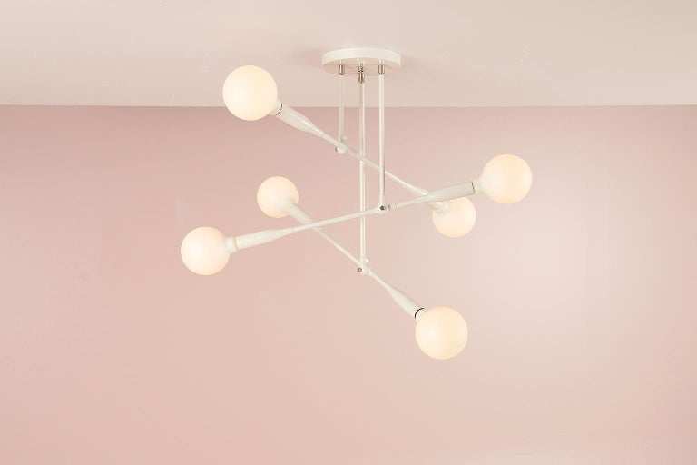 Modern Made to Order Thia Trio Light by Studio Dunn In New Condition For Sale In Rumford, RI