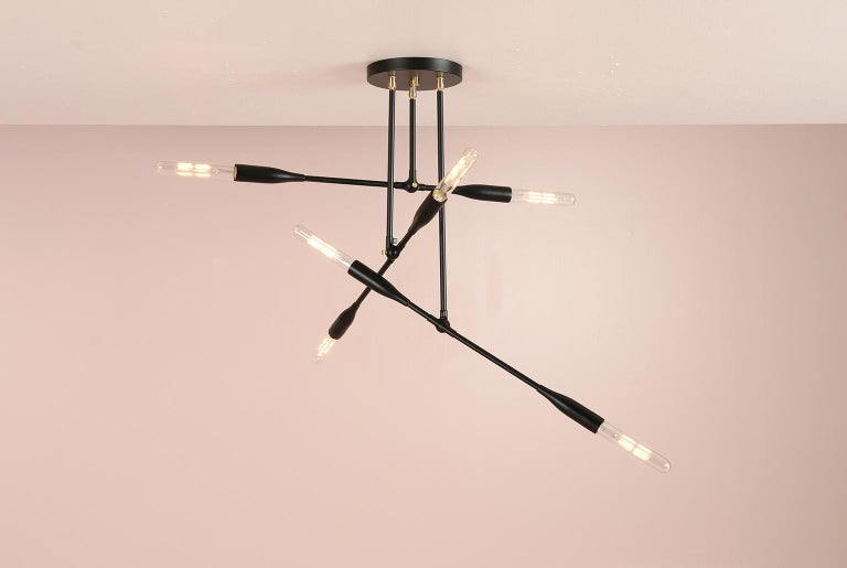 Contemporary Modern Made to Order Thia Trio Light by Studio Dunn For Sale