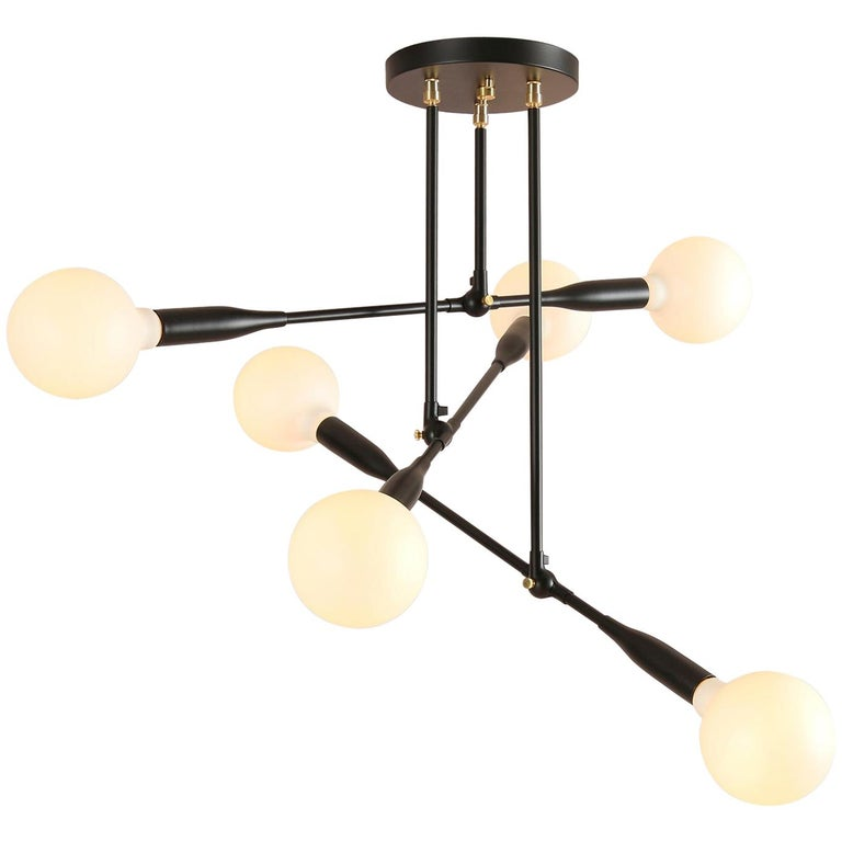 Modern Made to Order Thia Trio Light by Studio Dunn For Sale