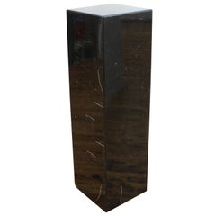Modern Marble Tessellated Column Pedestal