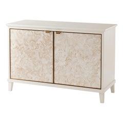 Modern Marbleized Cabinet