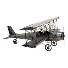 Modern Metal Airplane Model Collectible