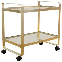 Modern Metal Bar Cart