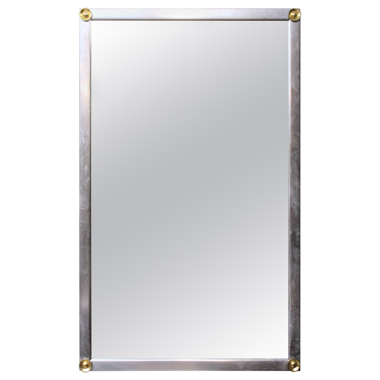 Modern Metal Frame Wall Mirror
