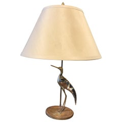 Modern Midcentury Whimsical Avian Table Lamp, 20th Century