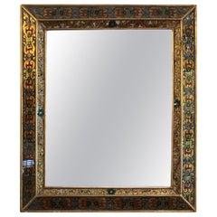 Modern Midcentury Italian Églomisé Mirror