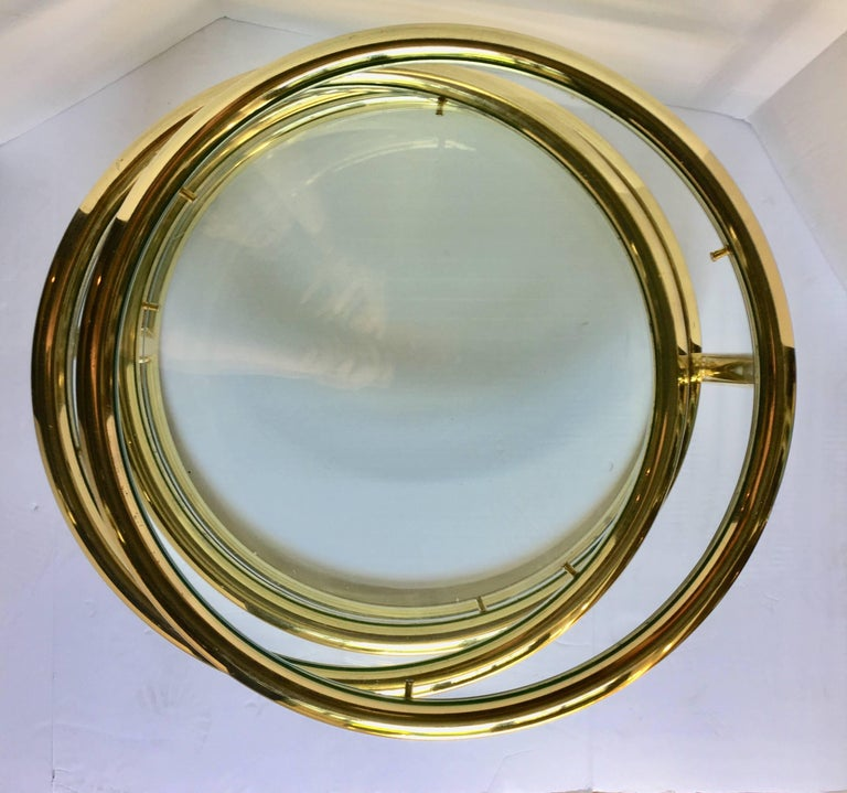 Modern Milo Baughman Pace Style Articulating Brass And