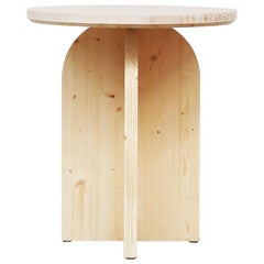 Modern Minimalist Round Dining Table by Atelier Bachmann, 2019