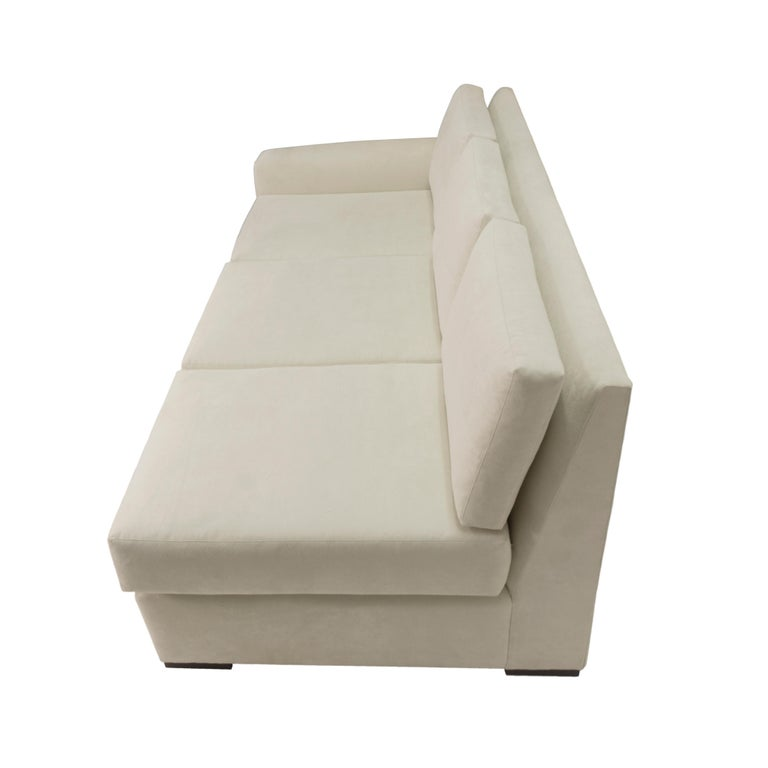 Modern Minimalistic Sectional Sofa For Sale 5
