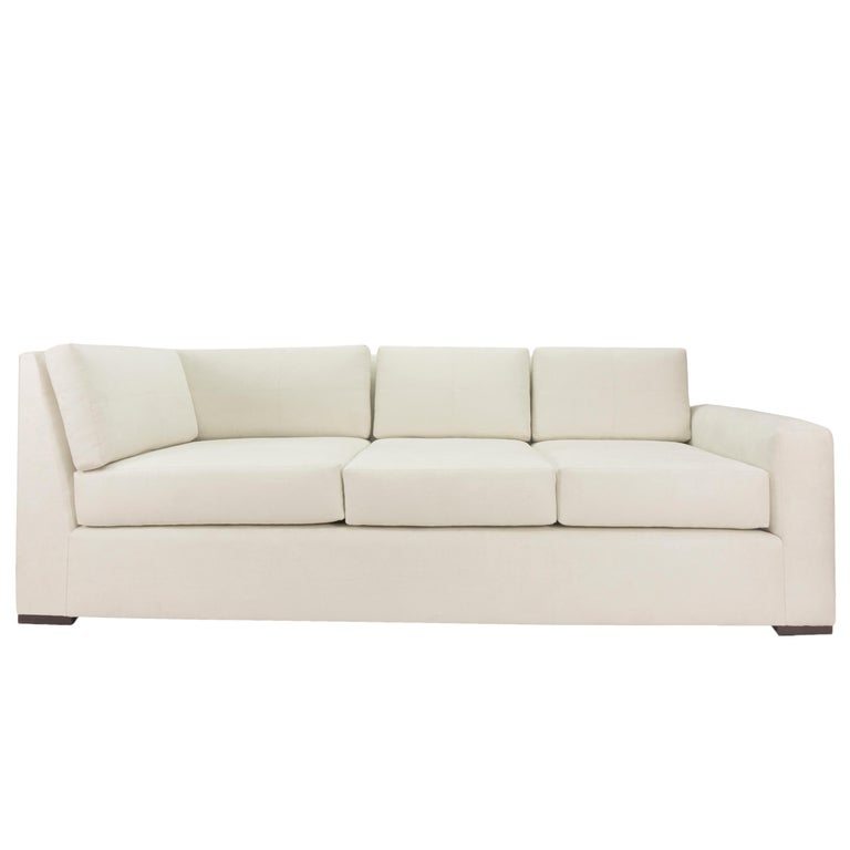 Modern Minimalistic Sectional Sofa For Sale 6