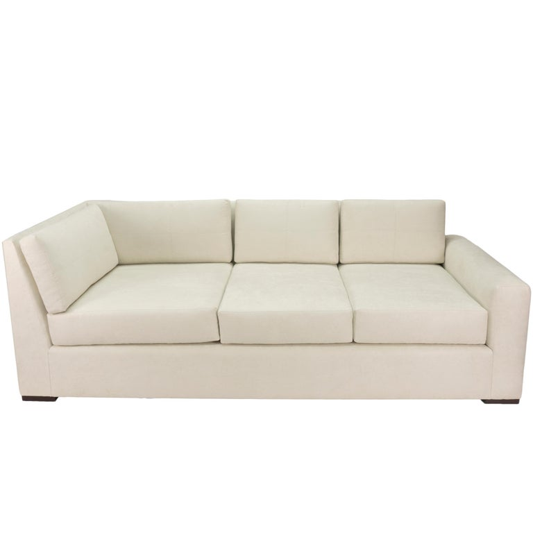 Modern Minimalistic Sectional Sofa For Sale 8