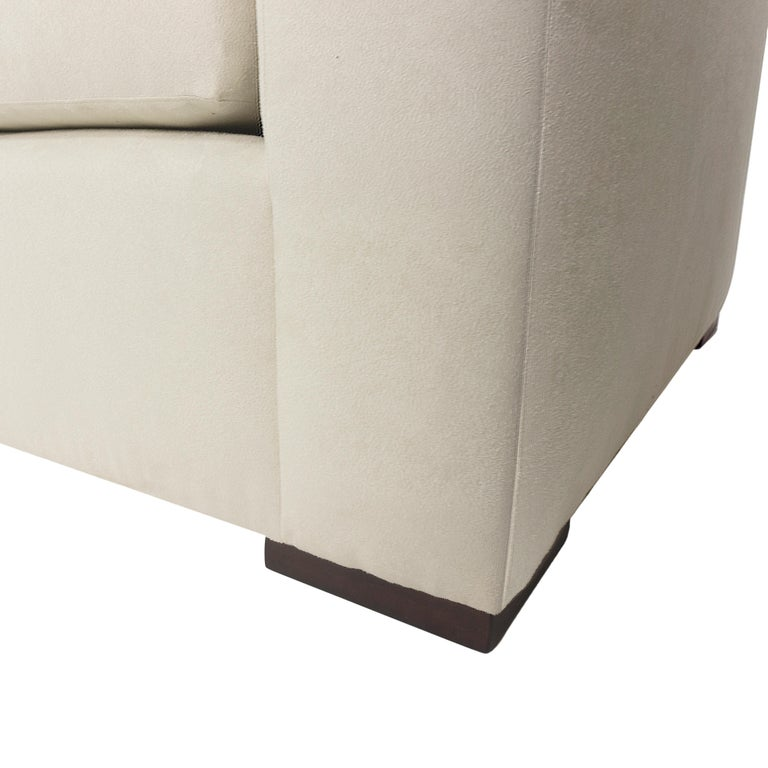 Modern Minimalistic Sectional Sofa For Sale 9