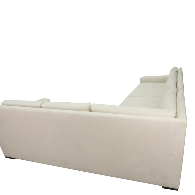 Contemporary Modern Minimalistic Sectional Sofa For Sale