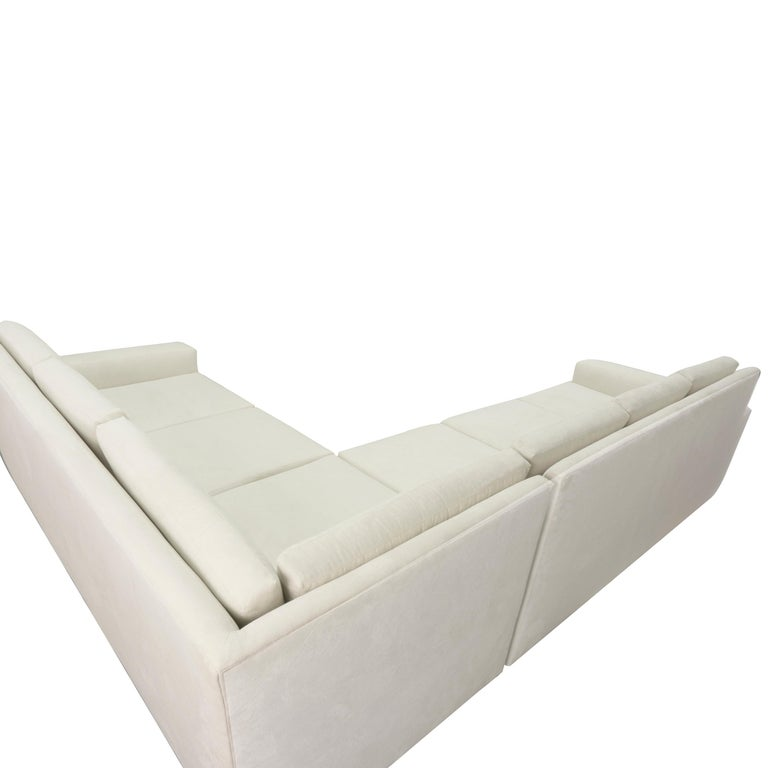 Modern Minimalistic Sectional Sofa For Sale 1