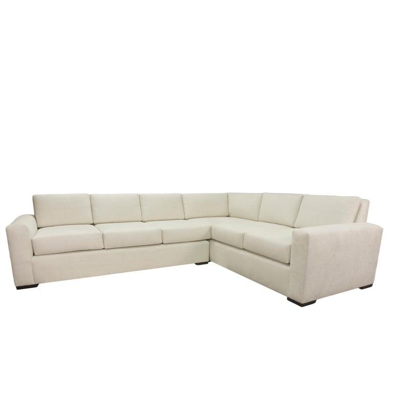 Modern Minimalistic Sectional Sofa For Sale