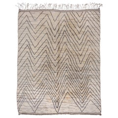 Modern Moroccan Carpet