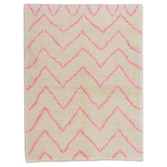 Contemporary Moroccan Rug - 100% Wool - Custom Options Available