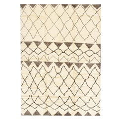 Modern Moroccan Style Rug