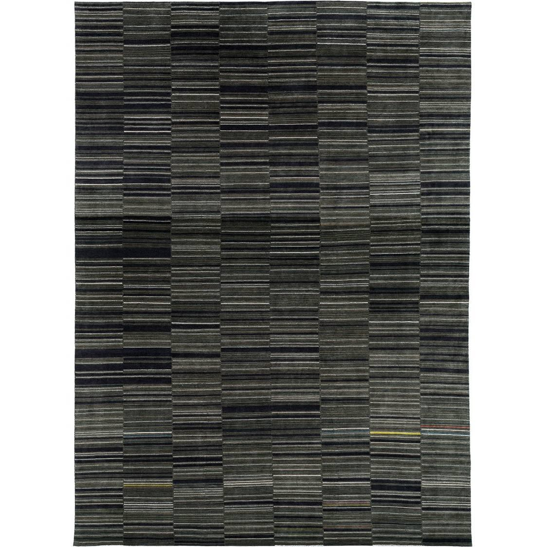 Modern Multicolored Area Rug by Carini