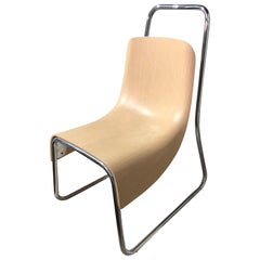 Modern Natural Baleri Littlebig Armless Chair by Jeff Miller