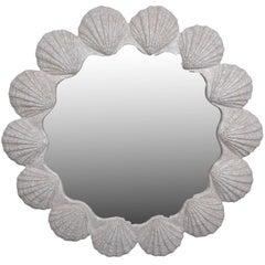 Modern Nautical Wall Mirror Shell Mirror