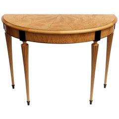Modern Neoclassical Console Table by Richard Newman