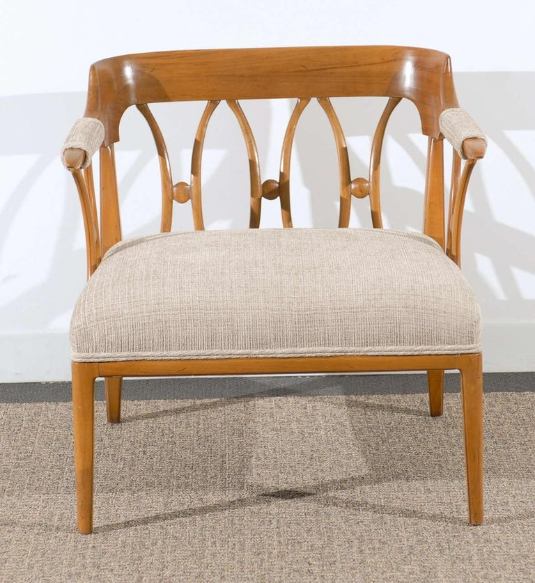 American Modern Neoclassical Loungers by Lubberts and Mulder for Tomlinson, circa 1958 For Sale