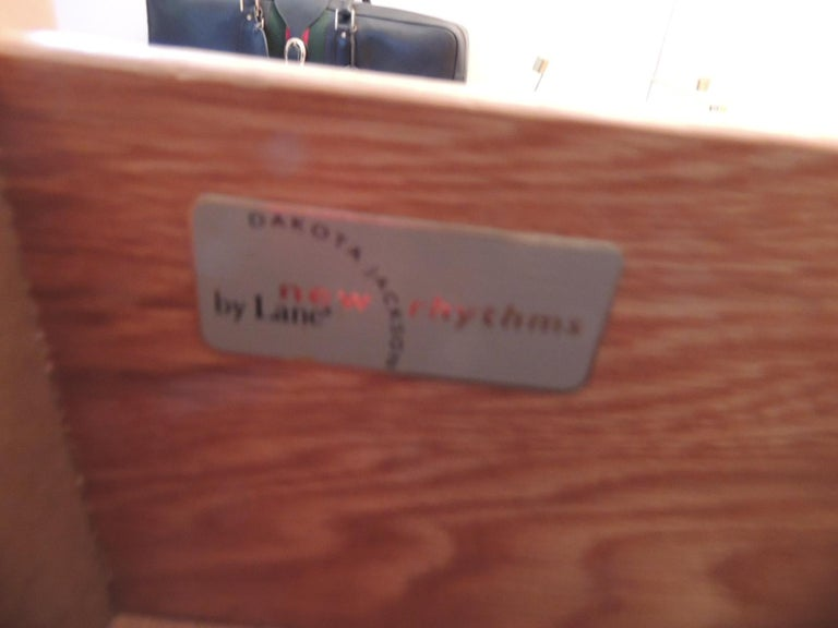 Modern Nightstand by Dakota Jackson for Lane Furniture For Sale 3