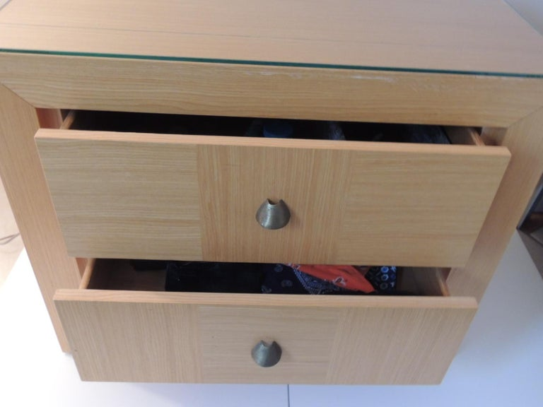 Modern Nightstand by Dakota Jackson for Lane Furniture In Good Condition For Sale In Oakland Park, FL