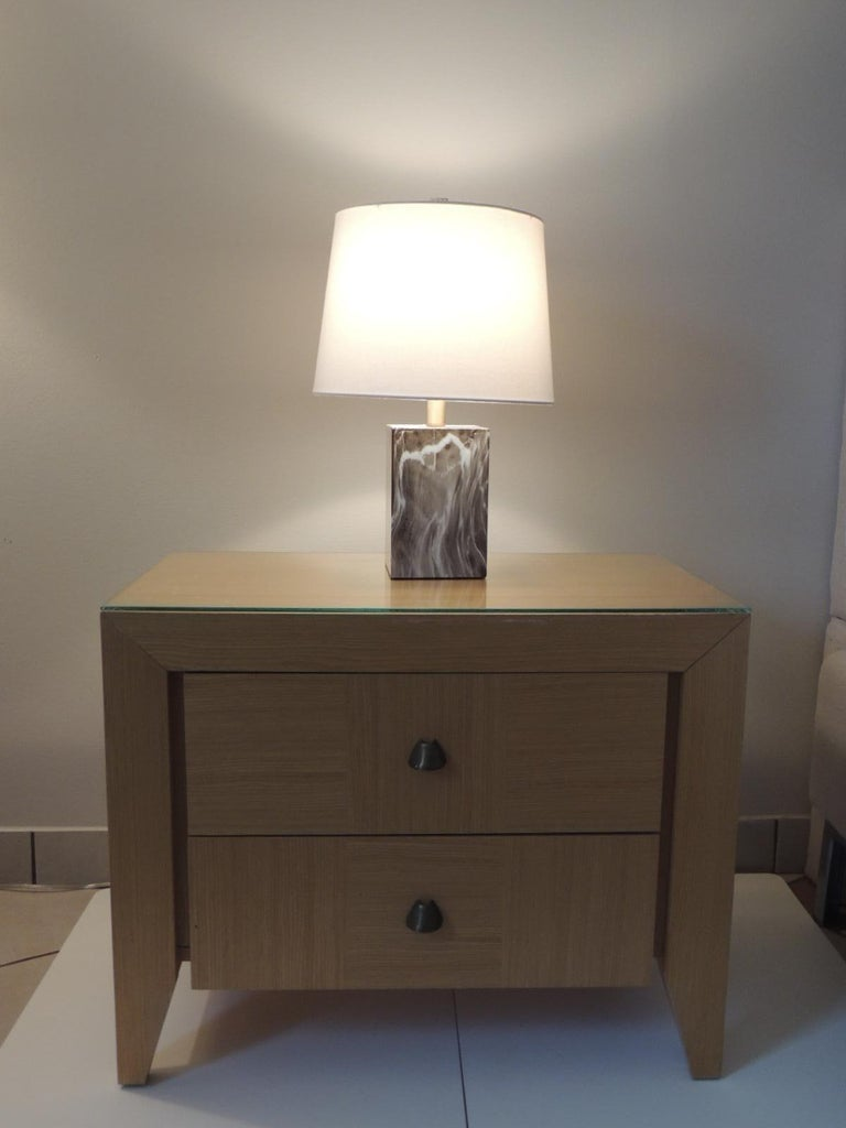 Sycamore Modern Nightstand by Dakota Jackson for Lane Furniture For Sale